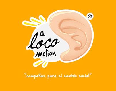 aLOCOmotion - Identidad Gráfica