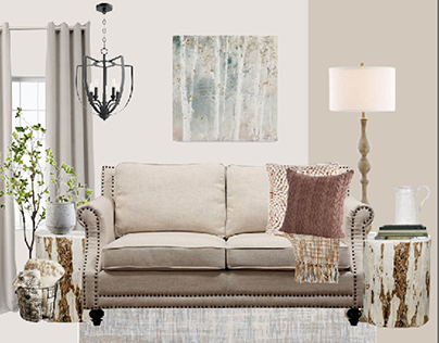 Living Room Project: Sweater Weather Refined Rustic