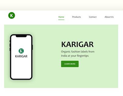 Karigar Web design