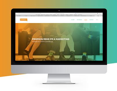 LESENSKY.CZ — website redesign
