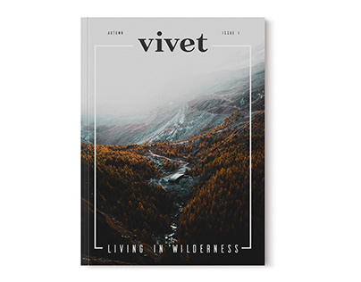 Editorial Layout - Living in Wilderness