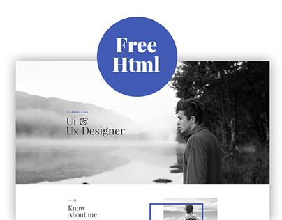 Resume - Free HTML Resume