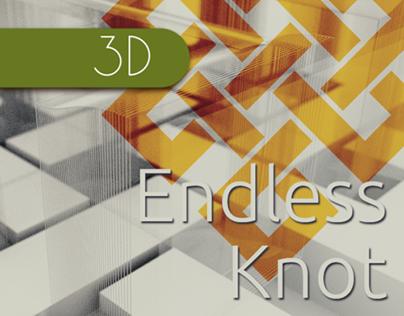 Endless Knot (Blender / Cycles / FOSS)