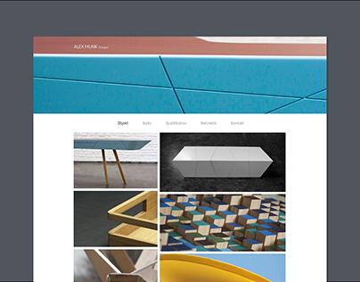 Alex Munk Designs Website