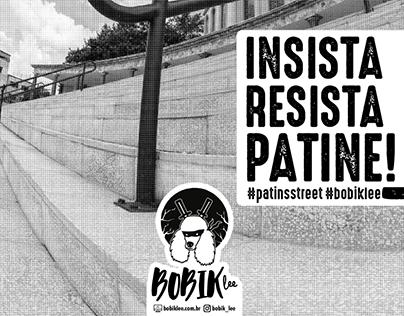 Criação dos layouts e produção de cartazes Bobik Lee