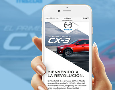 Website Design Mazda Baja