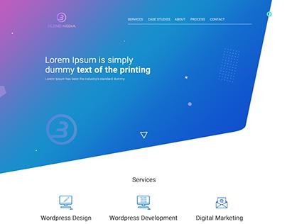 Web design for studio