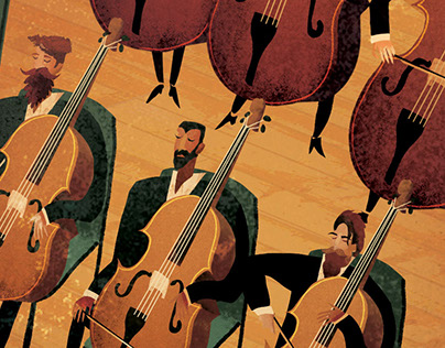 Classical Composers (Illustrated Spreads)