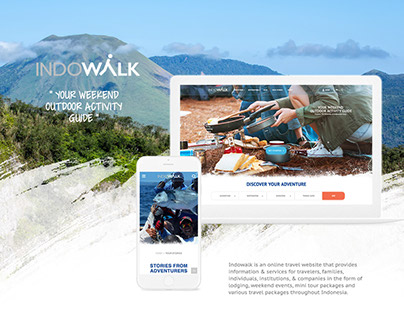 Indowalk - Tour and Travel Website