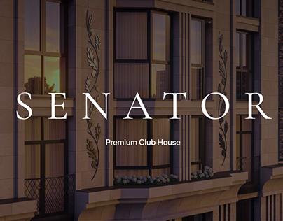 SENATOR - Premium Club House | Website concept