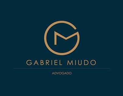 Gabriel Miudo | lawyer visual identity