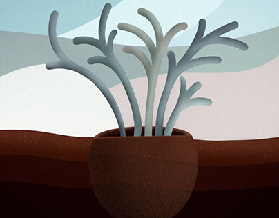 Planted Illustration