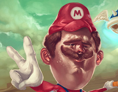 Mario Kart 8 Fanart