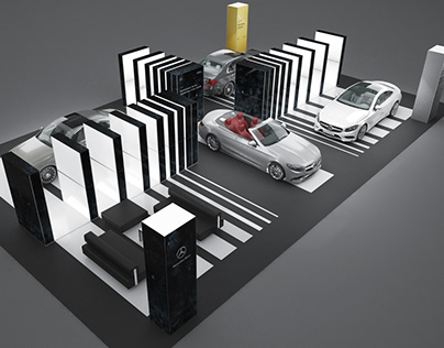 MERCEDES launch events & showroom kits