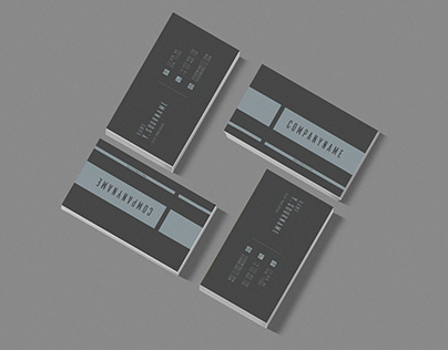 MINIMALISTIC BUSINESS CARD TEMPLATES