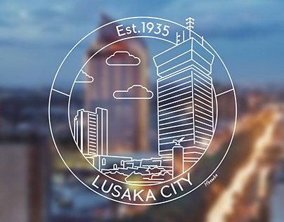 Lusaka City Logo Badge