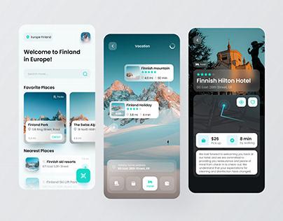 Nordic Vacation App