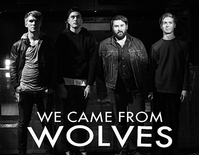 We Came From Wolves Album Cover