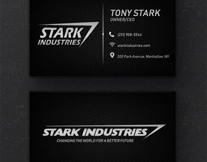 Cartão de Visita | Stark Industries