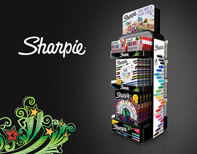SHARPIE FLOOR STAND