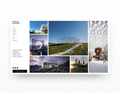 Design marathon - Omega render