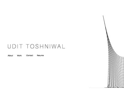 Personal Website | Udit Toshniwal
