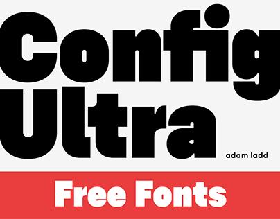Config Ultra Free Fonts