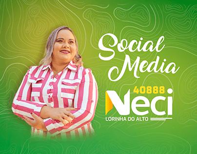 Campanha Eleitoral - Vereadora Neci