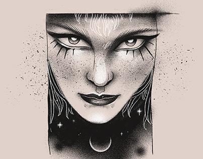 Inktober Portrait 2020