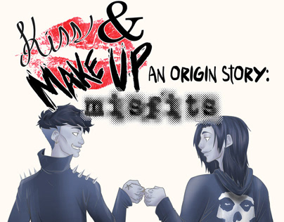 Kiss & Make Up, an Origin Story - An Original Comic
