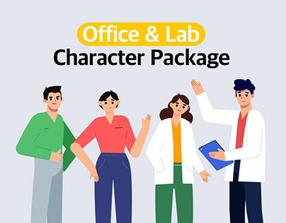 Office & Lab Character Package