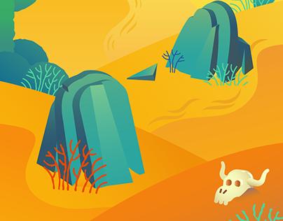 Background landscapes - Concept