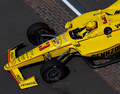 Helio Castroneves Penske Pennzoil Livery Indy 500 2018