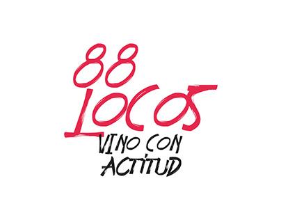 88 Locos Wines - Social Media