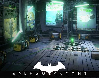 Batman Arkham Knight - Panessa Studios Riddler Poster