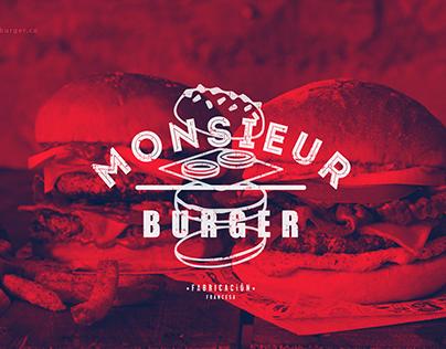 Monsieur Burger Brand