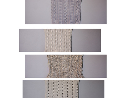 knit/woven textile samples