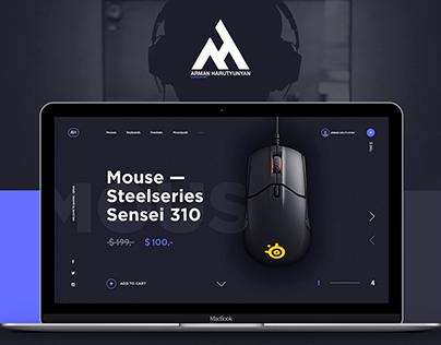 UX/UI creative web design