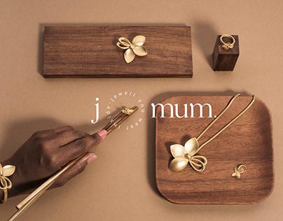 J mum - identity design
