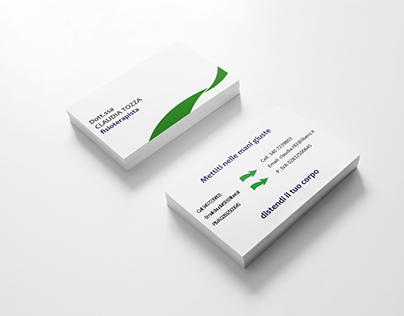 Business Card for a physiotherapist