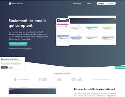 Free Your Inbox revamp