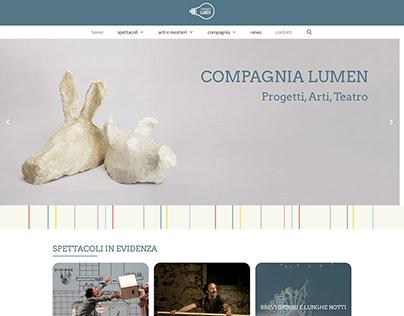Realizzazione Sito Web Compagnia Lumen