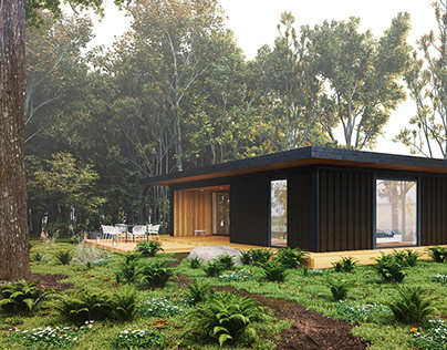 Modern Shipping Container Home   DEER Design