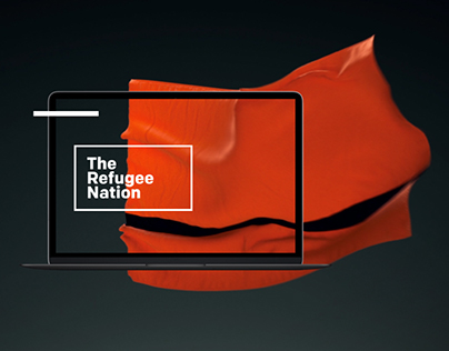 The Refugee Nation: Web Design & Branding