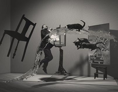 Dalí - Atomicus - Animation