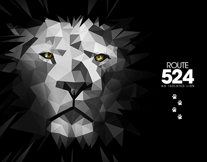 Route524 ~An Isolated Lion~