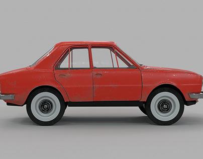 Toy car - test RIG