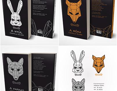 Fictive book series design