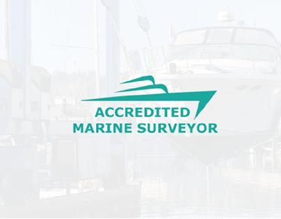 Logo design, Marine surveyor.