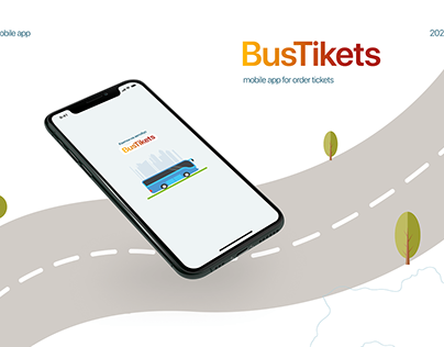 Mobile app for order bus tickets